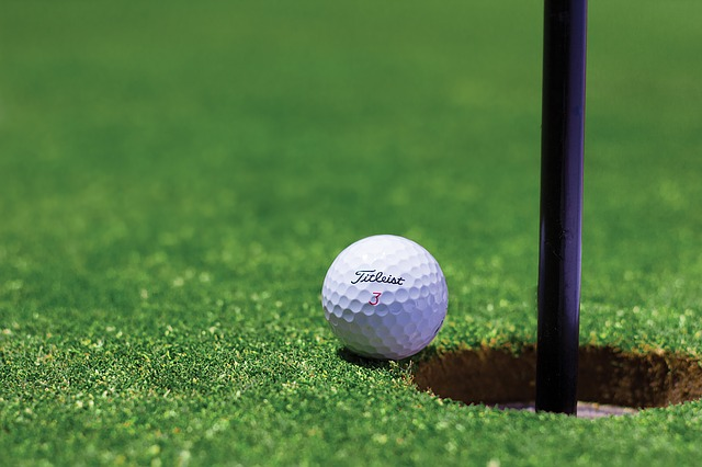 Härlig golfbild